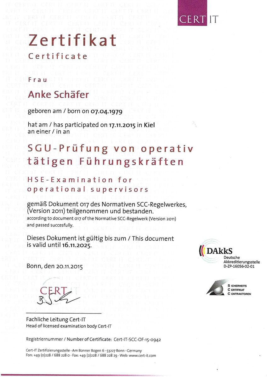Zuerkennung Ausbildung Kauffrau/mann für Büromanagement